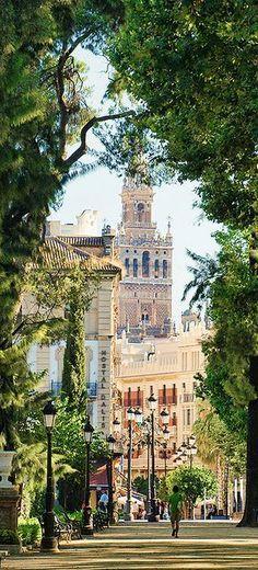 Jardines de Cristina, Sevilla, Spain - So beautiful!  I have to go there one day #Isabella #WarriorQueenOfSpain