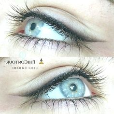 Grey Green Eyes, Hazel Green Eyes, Eyeliner Tattoo, Makeup Tattoos, Makeup Wallpapers, Makeup Before And After, Permanent Makeup Eyebrows, Makeup For Brown Eyes, Combination Skin
