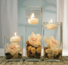 Simple wedding centerpieces for. Simple wedding centerpieces for tables. Simple wedding centerpieces for round tables. Simple wedding centerpieces for long tables. Floating Candles, Pillar Candles, Candels, Candle Vases, Candle Holders, Water Candle, Tall Vases, Diy Candles, White Candles