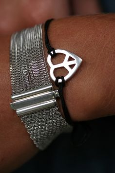 Web Armband Silber von Deva Jewels