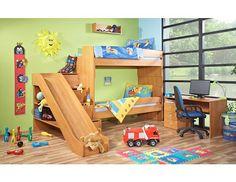 Dětský pokoj Miki P2 Originální a hrací dětský pokoj Miki P2 české výroby s praktickým řešení úložného prostoru a skluzavkou. Nábytek je vyroben z kvalitních eko dřevotřískových laminovaných desek (českého původu) v kombinaci síly 18 … Big Girl Rooms, Loft, Bed, Furniture, Babys, Home Decor, Quartos, Games, Babies