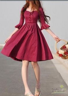 Discover new and vintage dresses at ASOS Marketplace. Take your pick from retro evening gowns, shifts, maxis, babydolls and thousands more styles. Vintage Dresses, Vintage Outfits, Vintage Fashion, Pretty Dresses, Beautiful Dresses, Awesome Dresses, Pretty Clothes, Elegant Dresses, Beautiful Flowers