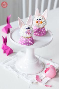 Ostern-Torte-Eier-Cake Pop-Hasen