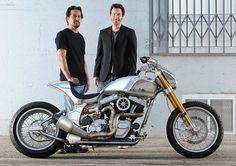 The Bike that Keanu Reeves built - NICE!