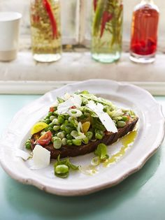 Posh Beans on Toast | Vegetables Recipes | Jamie Oliver