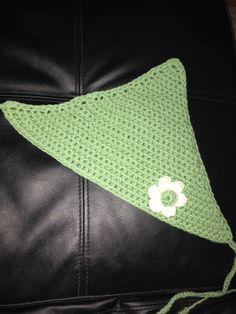 Simple Crochet Headscarf/kerchief