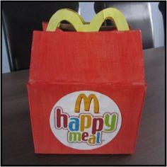 happymeal box surprise lekker simpel