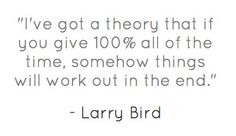 #Theory #hardwork #sports #quote