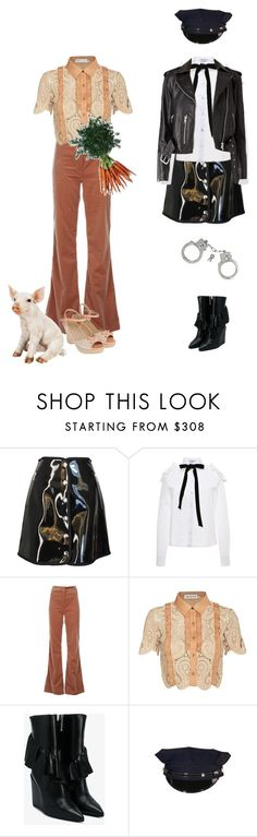 """""""Rook Shar"""" by everysimpleplan ❤ liked on Polyvore featuring Iceberg, VIVETTA, Vanessa Bruno, self-portrait and J.W. Anderson"""