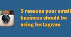 Thinking about promoting your biz on ‪#‎Instagram‬?http://blogs.constantcontact.com/5-reasons-your-small-business-should-be-using-instagram-uk/