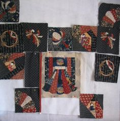 Japanese quilt design wall   Flickr - Photo Sharing!