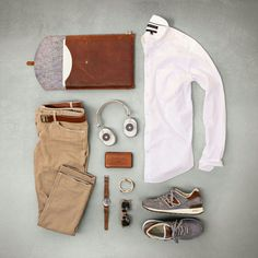 Heck of a classic fall style combination. #menswear