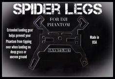 #DJI #Phantom SPIDER LEGS... available at uavbits.net #dronesaregood #dronelife