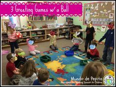 Mundo de Pepita: 3 Greeting Games with a Ball for Elementary Spanish …