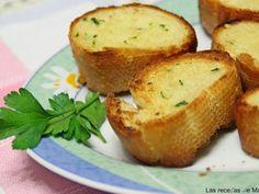 Receta Pan de ajo y mantequilla., por Lasrecetasdemasero - Petitchef