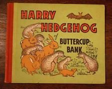 LOVELY Vintage 1950s Harry Hedgehog Of Buttercup Bank By Winifred Hunt