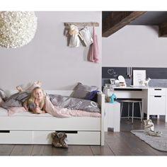 woood Jade Bedbank 90 x 200 cm - Wit - afbeelding 2