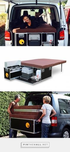 Suv camping ideas make happy camper check right now 9 - Savvy Ways About Things Can Teach Us Kombi Trailer, Kombi Motorhome, Camper Trailers, Campervan, Rv Campers, Camping Ideas, Camping Diy, Camping Hacks, Camping Recipes