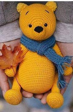 Winnie the Pooh Amigurumi Pattern ⋆ Crochet Kingdom | 362x236