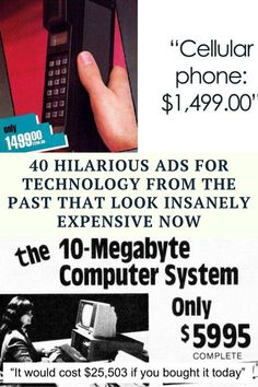 Name a better time capsule than ads for technology. Go on, I'll wait. Looking back at a gadget from decades ago really shows how far humanity has come. A landline answering machine, a 10-megabyte hard drive... It's crazy to think that at one point, now-obsolete technology was not only top-of-the-line but also a bargain. Now, paying a couple of months worth of salary for memory that fits no more than a few songs makes little sense when you consider that 4 terabytes of external storage cost…