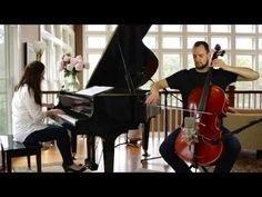 Piano/cello cover of Ed Sheeran's Photograph. This would actually make LOVELY wedding processional music