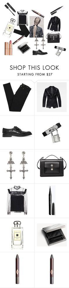 """very nice"" by swanheartsdream on Polyvore featuring Yves Saint Laurent, G-Star, Church's, Hermès, Givenchy, Balenciaga, Miu Miu, Christian Dior, Jo Malone and Burberry"