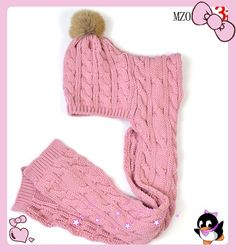 New Style baby Knitted Hat Scarf Suit Pullover Headdress Soft Hat Kids Hats, Crochet Gifts, Crochet For Kids, Headdress, Baby Knitting, Mittens, Knitted Hats, Knitting Patterns, Style