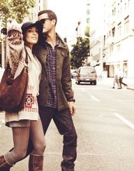 lover her outift....and the man she is with <3 men, dress like this.