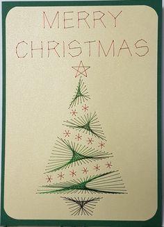Grußkarten-Set W038 - Motiv: Weihnachtsbaum 09 - Copyright ...