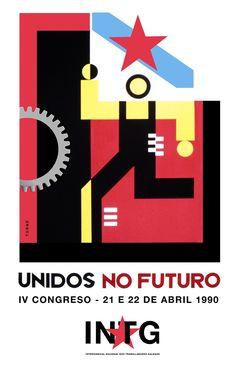 Sindicato nacionalista INTG, marca e gráfica IV Congreso