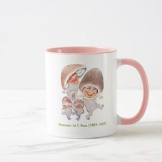 Vegetable Button Mushrooms Mug  $17.90  by themugplace  - cyo customize personalize unique diy