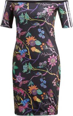 baa29e1235f adidas Poisonous Garden Off Shoulder Dress - Women s