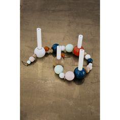 Candleholder string farge Ferm Living - Kjøp møbler online på ROOM21.no