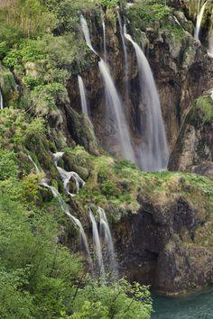 'Veliki Slap (Waterfall) Plitvice Lakes National Park, Croatia' by Danita Delimont