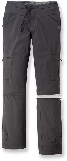 Mountain Hardwear Yuma Convertible Pants - Women's - Free Shipping at REI.com. Color Shark, Sz. 4
