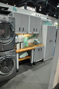 LAUNDRY ROOM – Another great design for a well-functioning laundry room. by Ventana Construction LLC