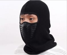 YIFEI Thermal Fleece Balaclava Hat For Men Women High Quality Winter Bicycle Windproof Motorcycle Face Mask Hat Neck Helmet Cap