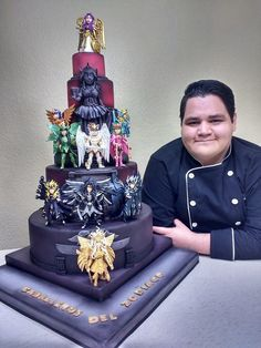 Sweet Cakes, Cute Cakes, Beautiful Cakes, Amazing Cakes, Extreme Cakes, Anime Cake, Dad Cake, Cute Baking, Cool Cake Designs