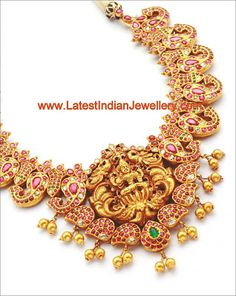 Unique Designer Temple Jewellery in Mango Design | Latest Indian Jewellery Designs