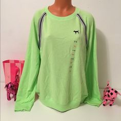 NEW PINK VS CREW SWEATSHIRT PINK VICTORIA'S SECRET SWEATSHIRT  SWEATSHIRT WITH STRIPES DETAILS IN THE SIDES.  GORGEOUS PIECE!!!    COLOR GREEN   SIZE L   FAST SHIPPING!!!      Check out my other items! I am sure you will find something that you will love it! Thank you for watch!!!!!   Be sure to add me to your favorites list! PINK Victoria's Secret Tops Sweatshirts & Hoodies