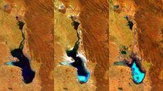 Fotos: Así desapareció el segundo lago más grande de Bolivia