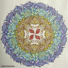 #coloringbook #lostocean #johannabasford #livrodecolorir #oceanoperdido