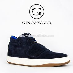 cf69f7db7f88d3 Italian style high top blue suede men sneakers for men boots 2017