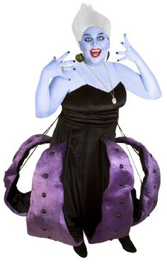 Adult Sea Witch Octopus Costume: She's mean, she's bad, and she's angry. Ursula is among the scariest villains in the Disney pantheon and our deluxe, plus-sized costume is sure to be a wicked success this Halloween.