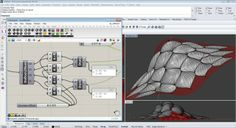 Surface Morph (Mapping Geometry Onto Surfaces). Using Grasshopper to morph geometry from a reference volume to the UVW parametric space of a...