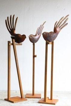 Paul Dibble - Faintail Construction - cast bronze, ed. of 3 Bird Sculpture, Sculptures, Contemporary Art For Sale, New Zealand Art, Nz Art, Paintings For Sale, Garden Art, Artsy, Bronze