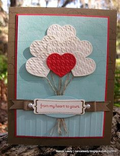 Stampin Up! - Fashionable Hearts Embosslit