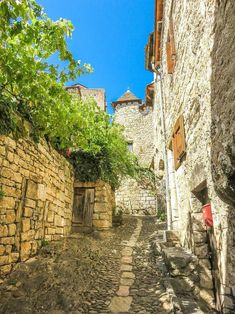 Quaint Saint-Enemie - one of the most beautiful villages in France Europe Travel Tips, Travel Destinations, Road Trip, Historical Monuments, Places In Europe, European Destination, Most Beautiful Cities, Romanesque, South Of France