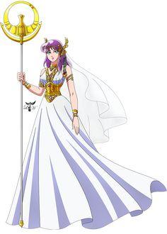 Saori Athena - Legend Of Sanctuary (Render) by LadyHeinstein