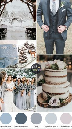 Grey And Blue Wedding Theme For Winter Wedding - light blue and grey wedding color combinations ,color ,color palette ,winter color ideas ,winter Themes Grey And Blue Wedding Theme For Winter Wedding Grey Wedding Theme, Gray Wedding Colors, Winter Wedding Colors, Space Wedding, Wedding Themes, December Wedding Colors, Winter Themed Wedding, Wedding Ideas Blue, Winter Wedding Ideas